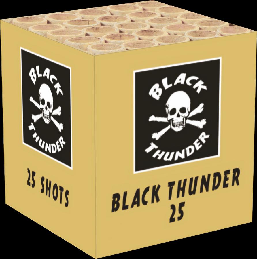 Black Thunder 25 schots