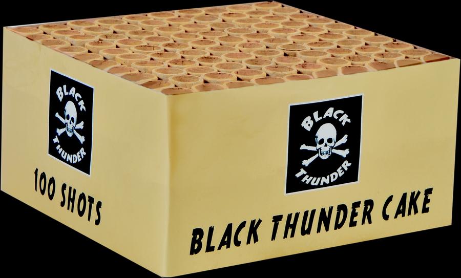 Black thunder 100 schots