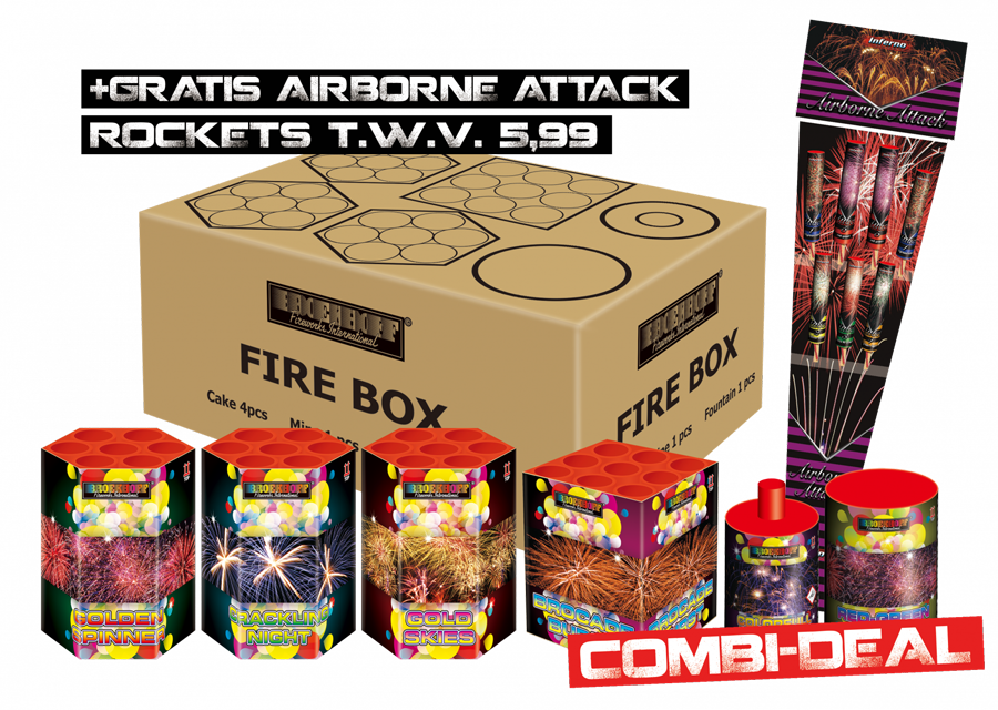 Fire Box + Airborne Attack gratis