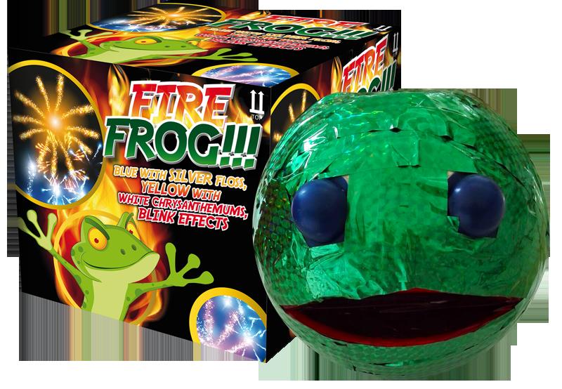 Fire Frog fontein