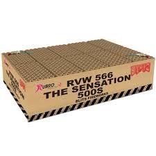 THE SENSATION 10x500 gram