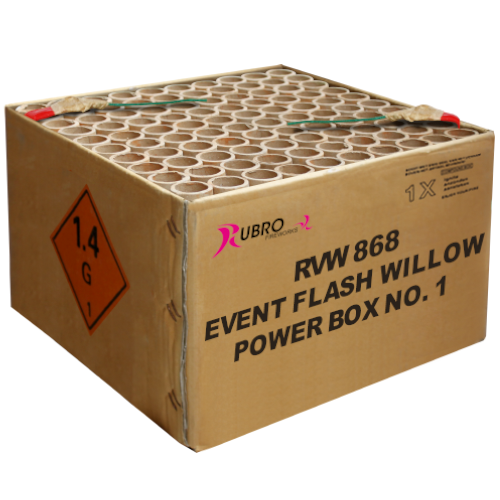 EVENT FLASH WILLOW POWER BOX No. 1