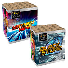 MAYHEM MINE & BLACKSTONE  1 +1 GRATIS