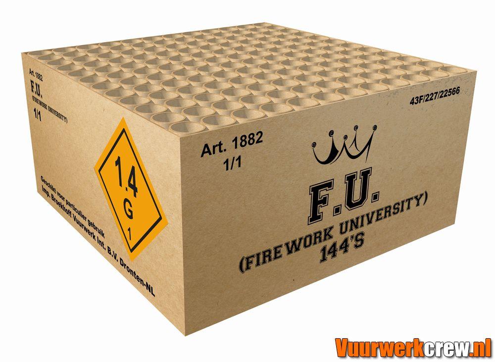 F.U. (FIREWORKS UNIVERSITY)  MET GRATIS CAP