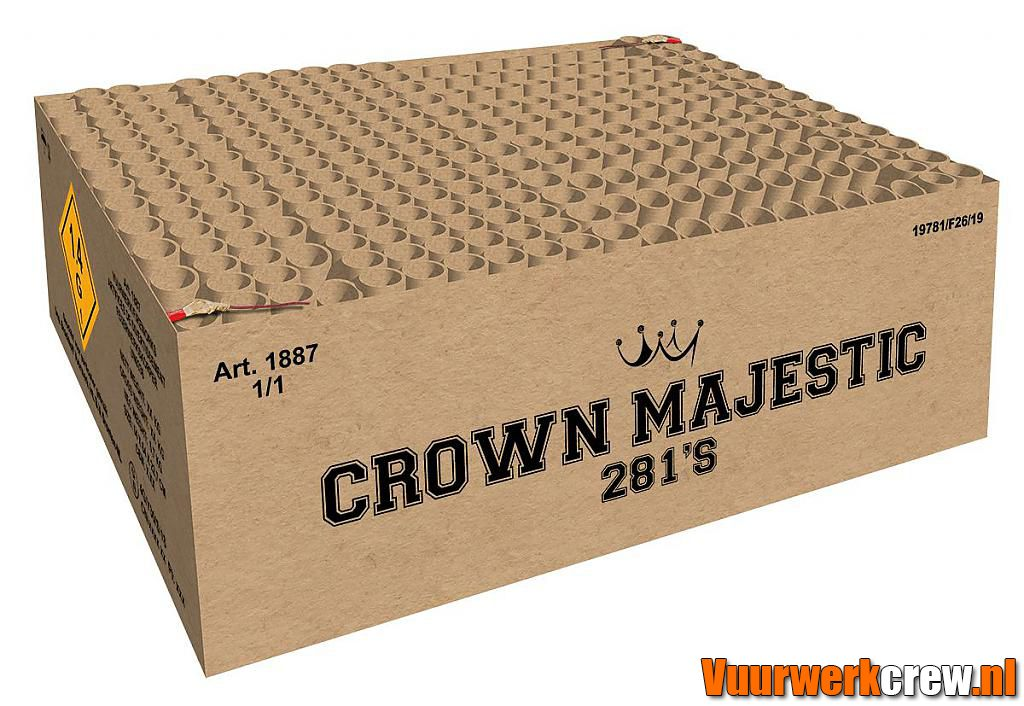 CROWN MAJESTIC 281 SHOTS
