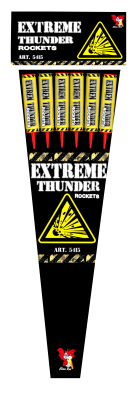 China Red Extreme Thunder Rockets