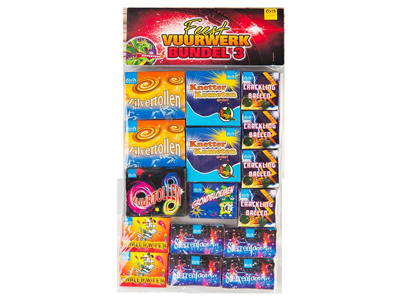 Feest vuurwerk bundel 3