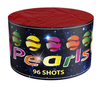 China Red 96 Color Pearls plus 1 gratis