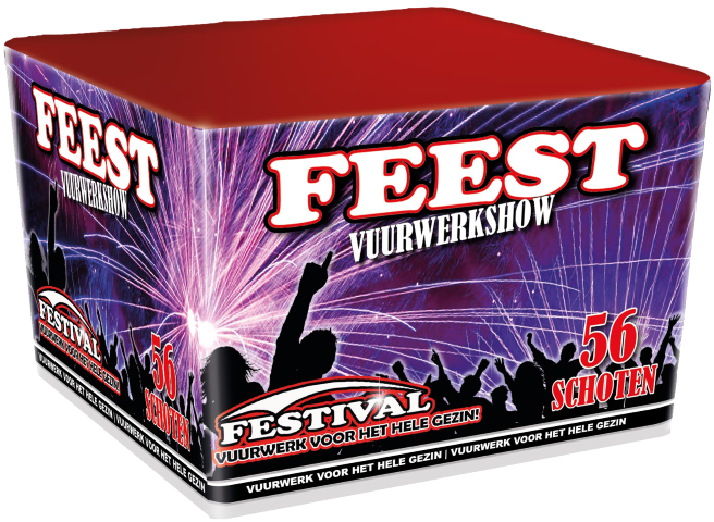 Festival Feest familie vuurwerk