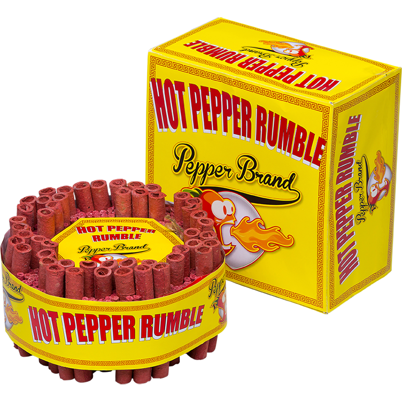 Hot pepper rumble