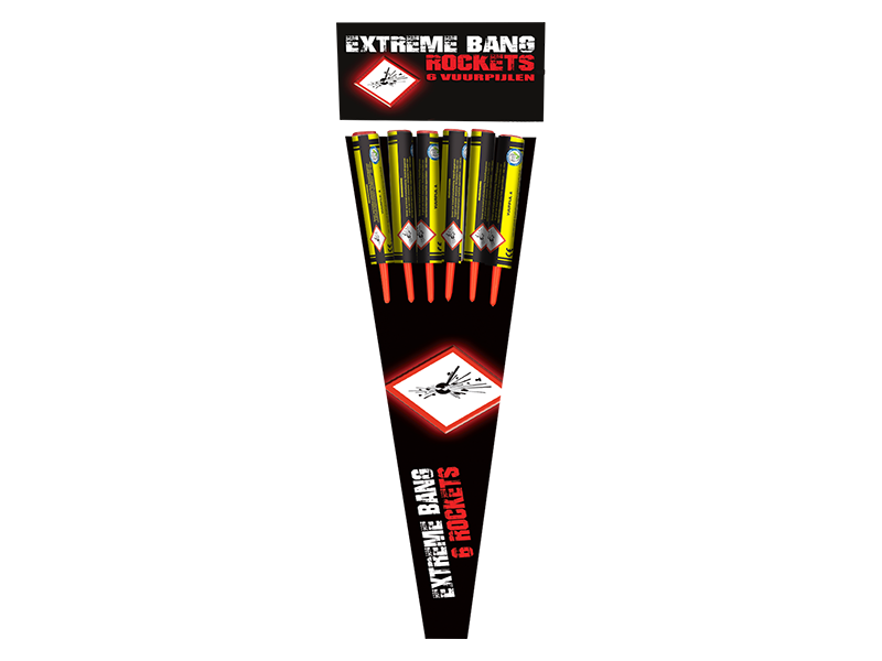 SALE! Extreme bang Rockets