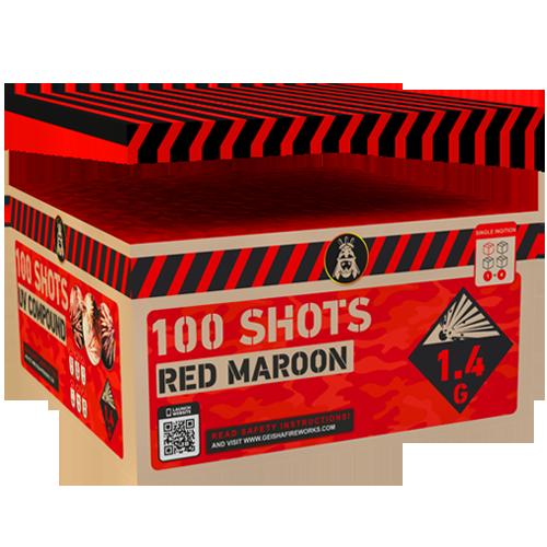 SALE! Red Maroon