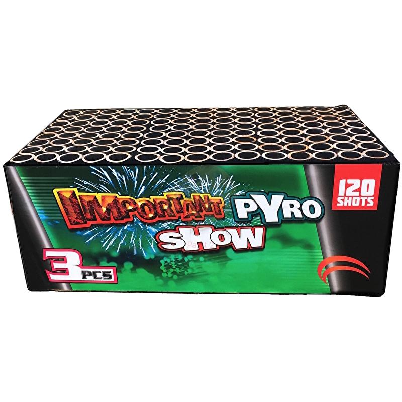 SALE! Important Pyro Show