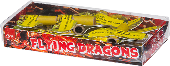 Flying Dragons (12 grote bijen)