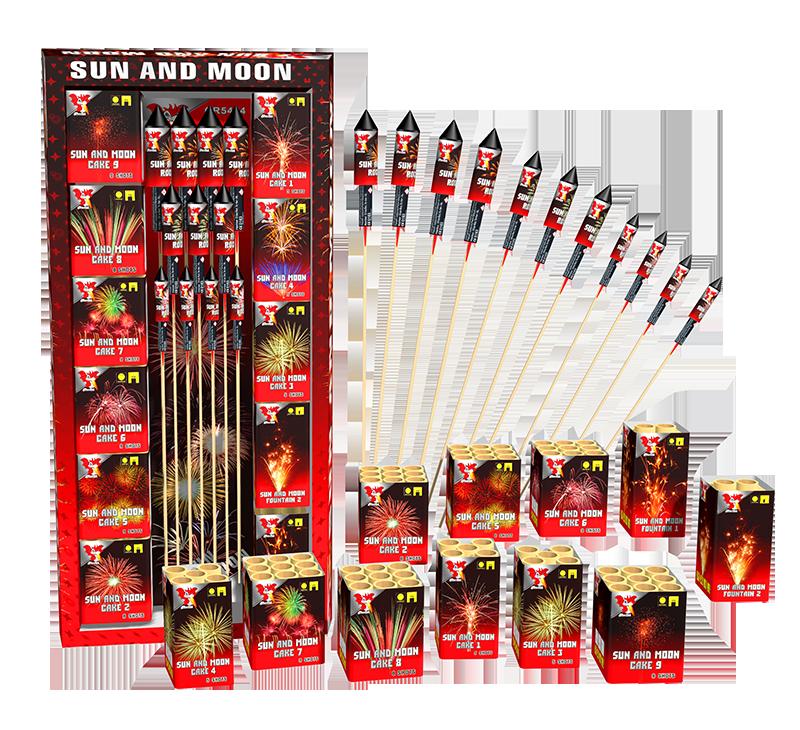 Sun and Moon pakket