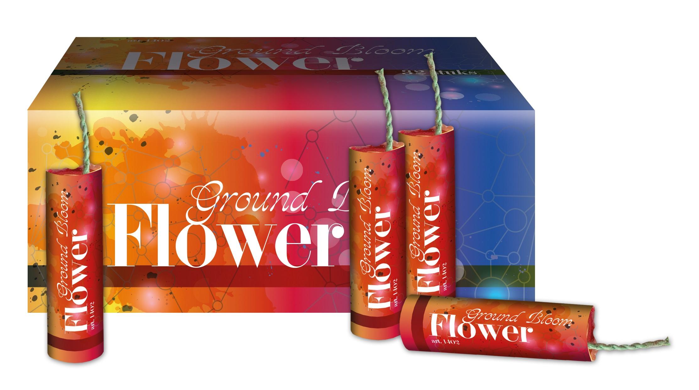 Grondbloemen 32 stuks