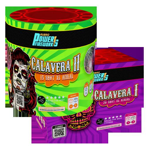 Calavera I + Calavera II (2 cakes)