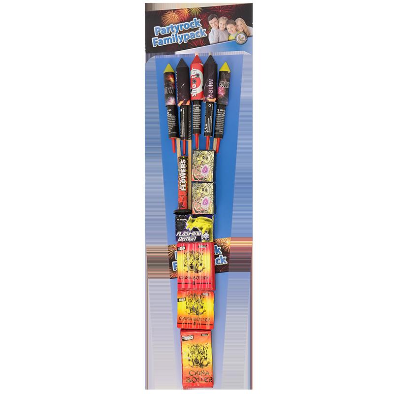 Partyrock Family pakket