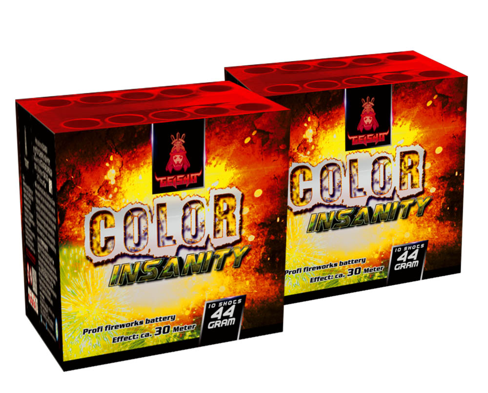 Deal 2: Color Insanity 1+1 Gratis