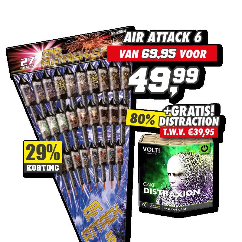 Air Attack 6 + Distraxion