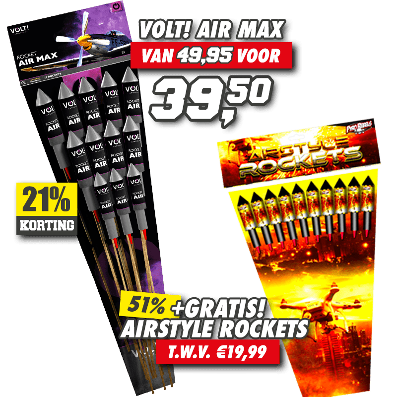 Air Max + Airstyle Rockets