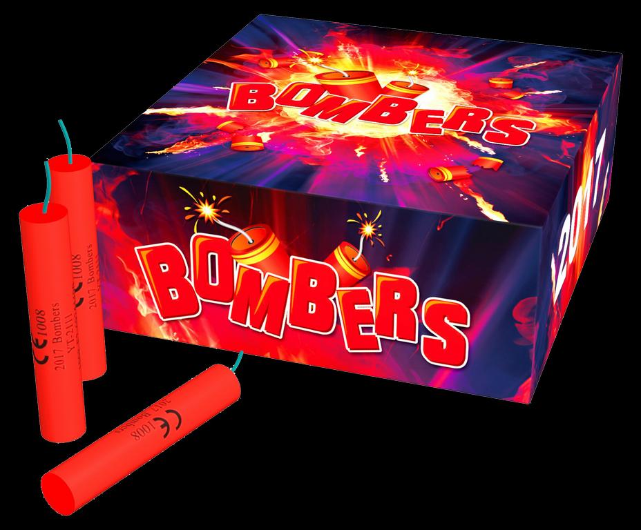 Bombers kanonslagen (100 stuks)
