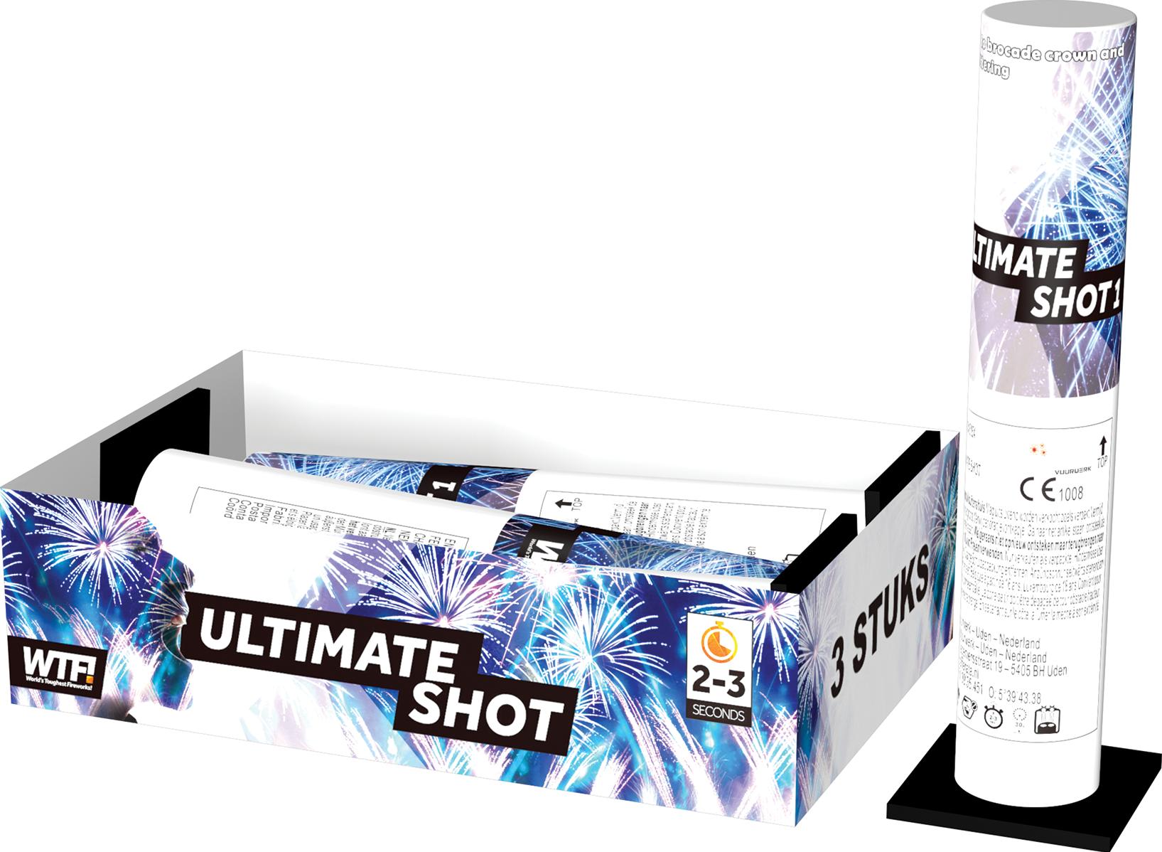 Ultimate Shot (3 stuks)