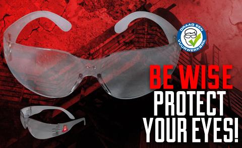 Kinder veiligheidsbril
