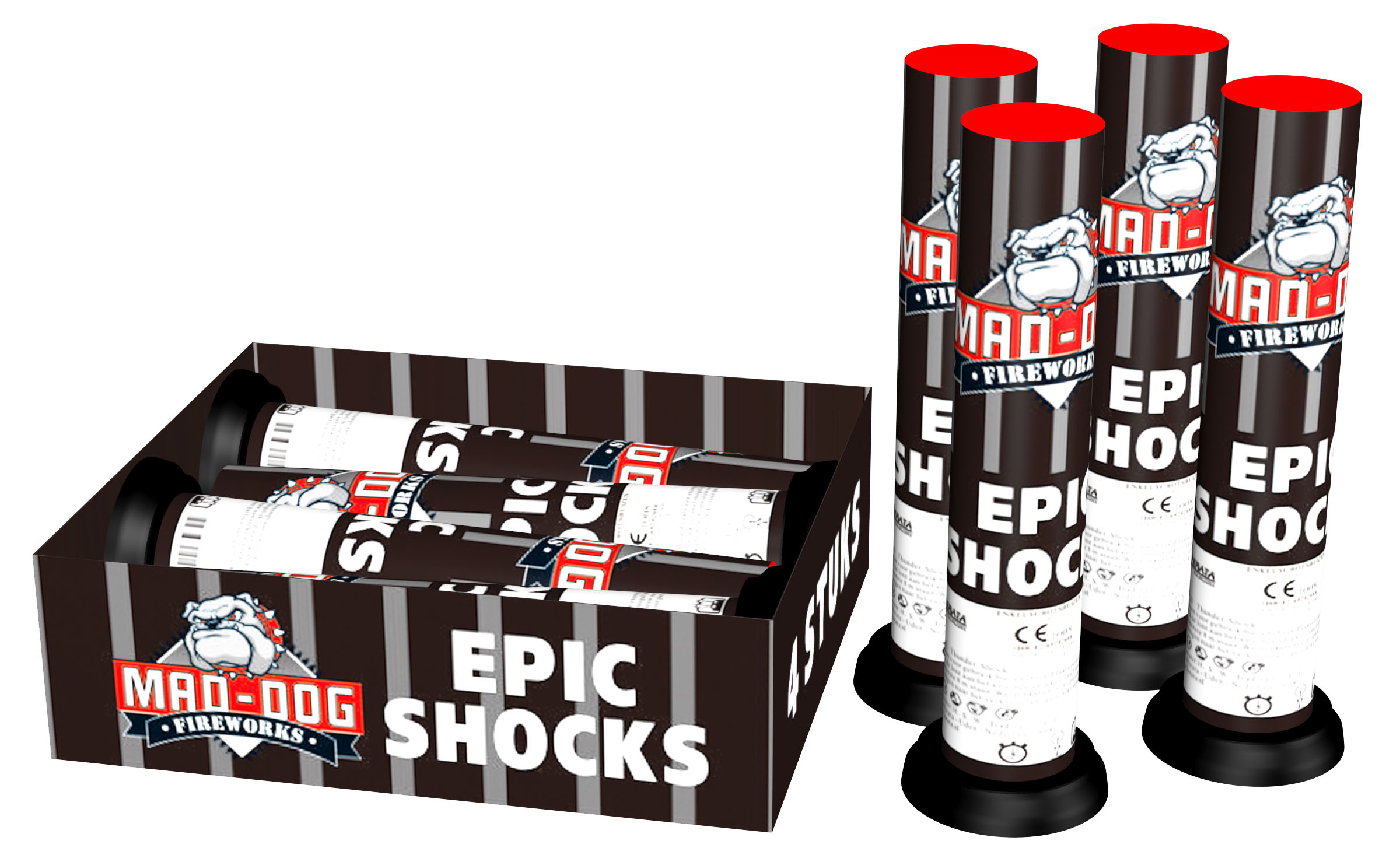 Epic shocks (4 stuks)