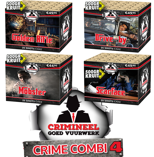 CRIMINEEL COMBI 4