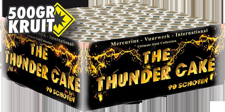 Giant Thunder Cake, 90 shots supercake