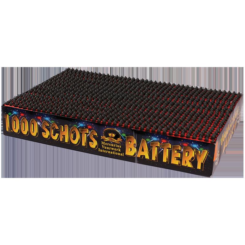 battery 1000 shots!