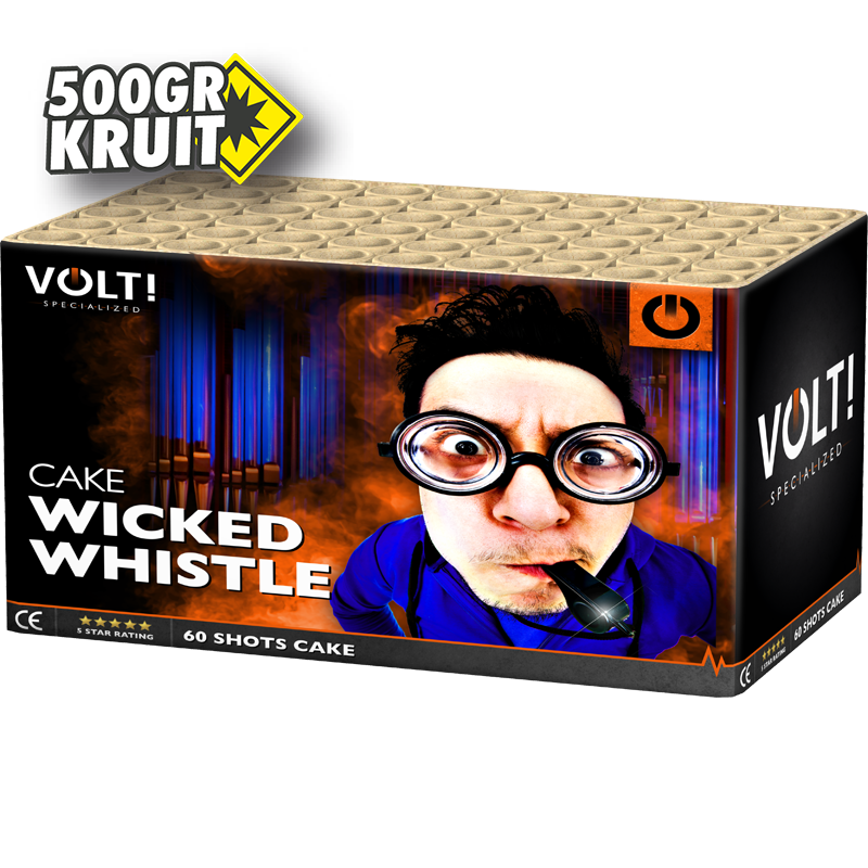 Wicked Whistle, 500 gram kruit