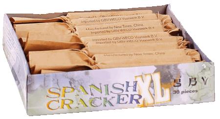 Spanish Cracker, 30 stuks in doos