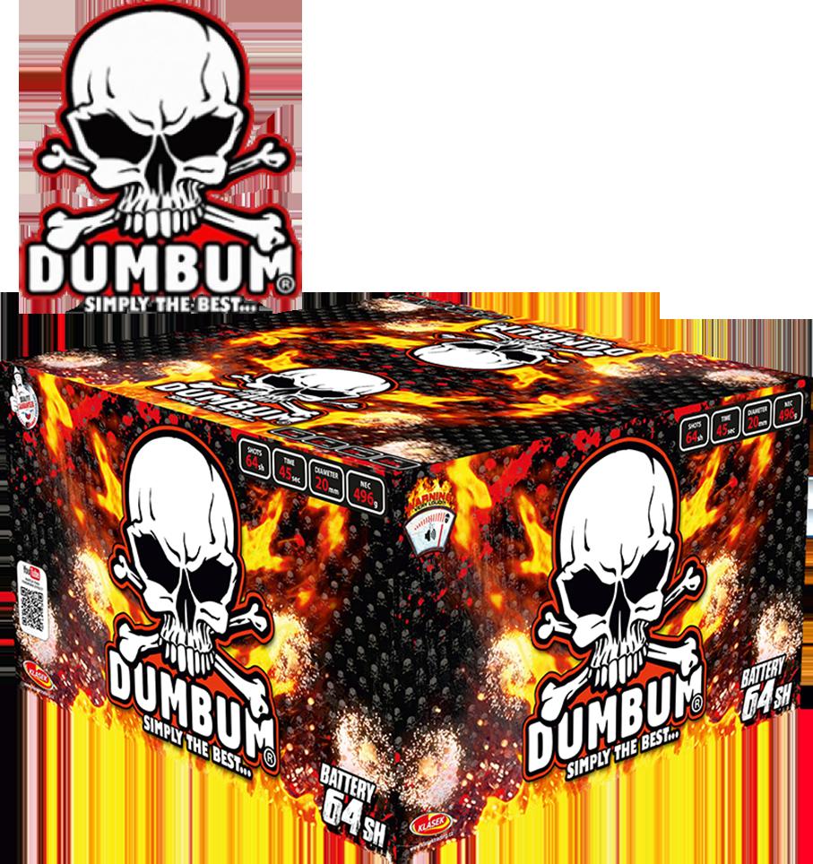 DUMBUM knalcake XXL 64 shots