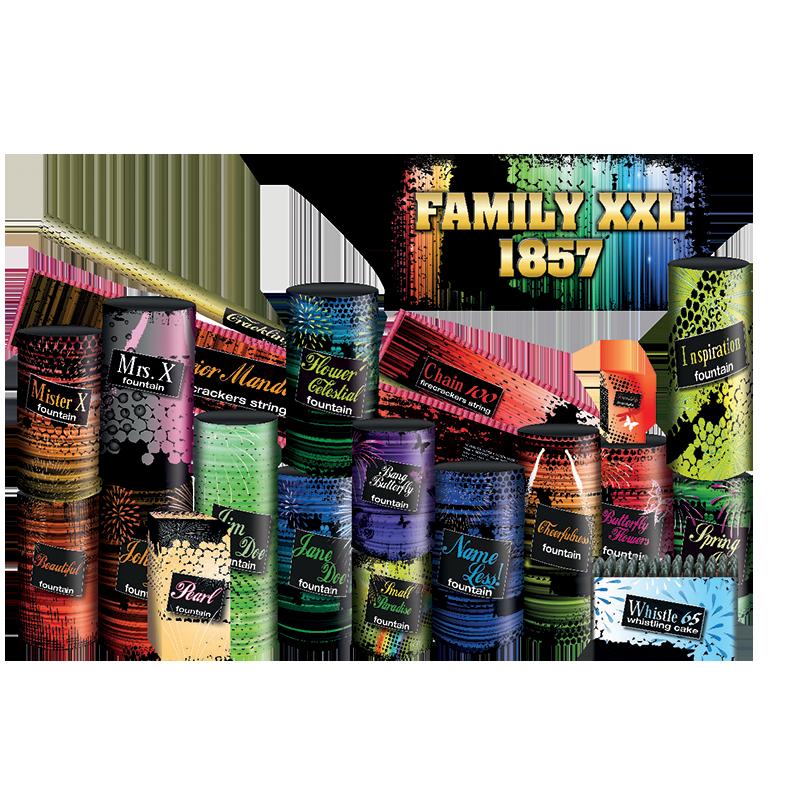 Family XXL Vuurwerkpakket