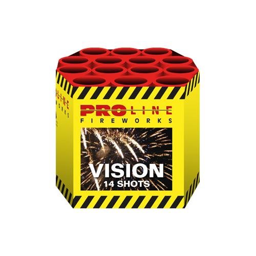 Vision - 14 shots cake