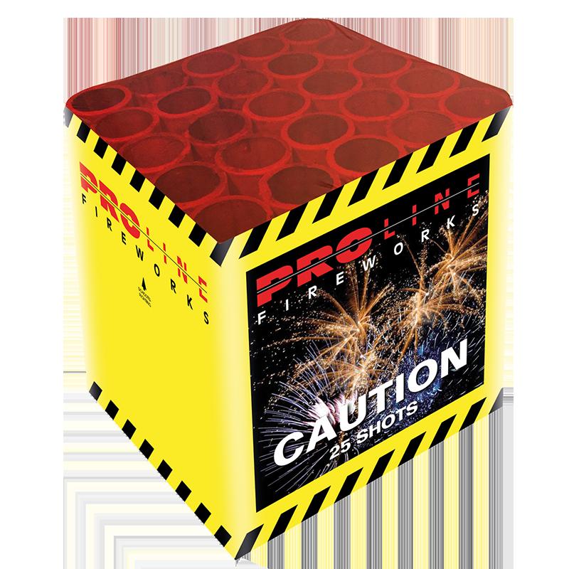 Caution 25 shots