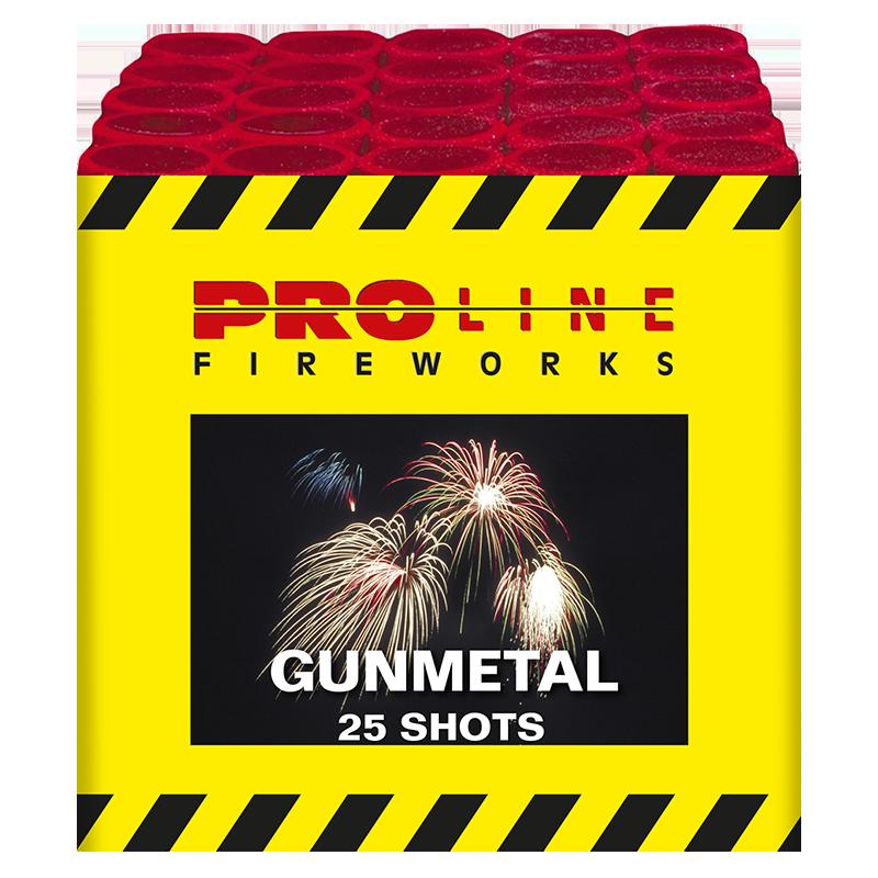 Gunmetal - 25 shots cake