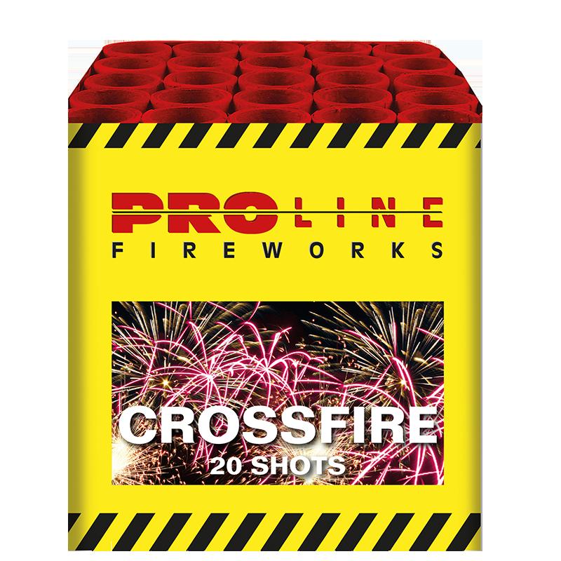 Crossfire - 20 shots cake