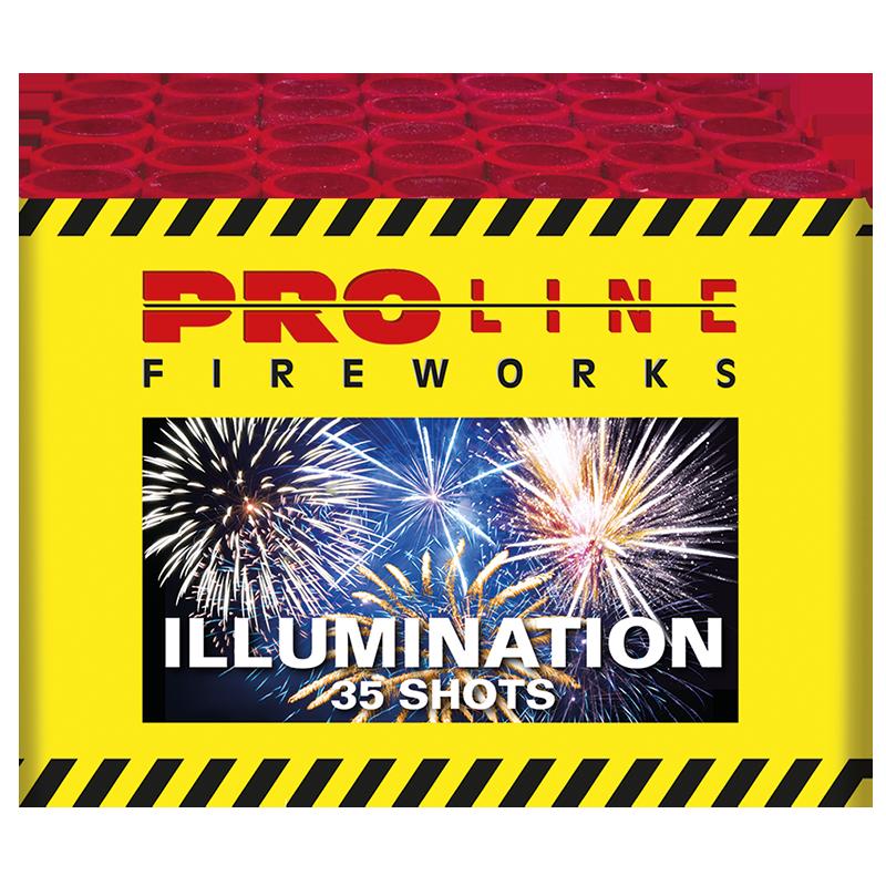 Illumination - 35 shots cake