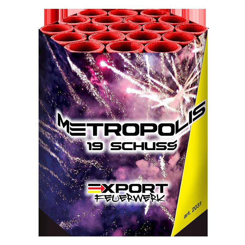 Metropolis 19 schuss - Duits vuurwerk