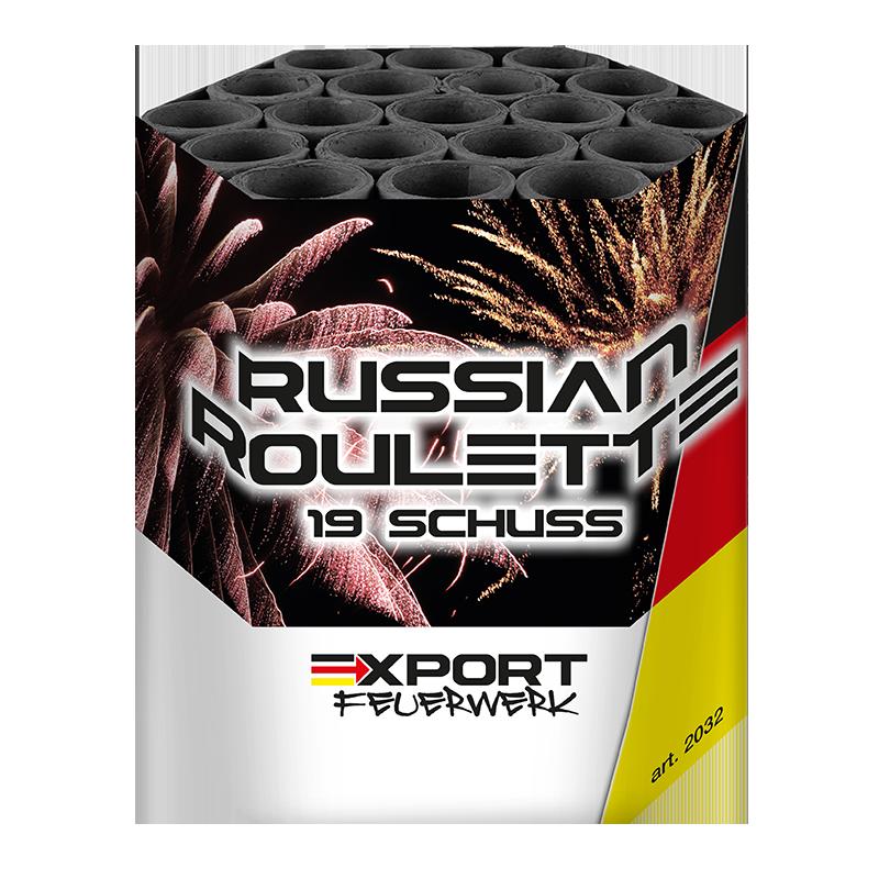 Russian Roulette 19 schuss - Duits vuurwerk