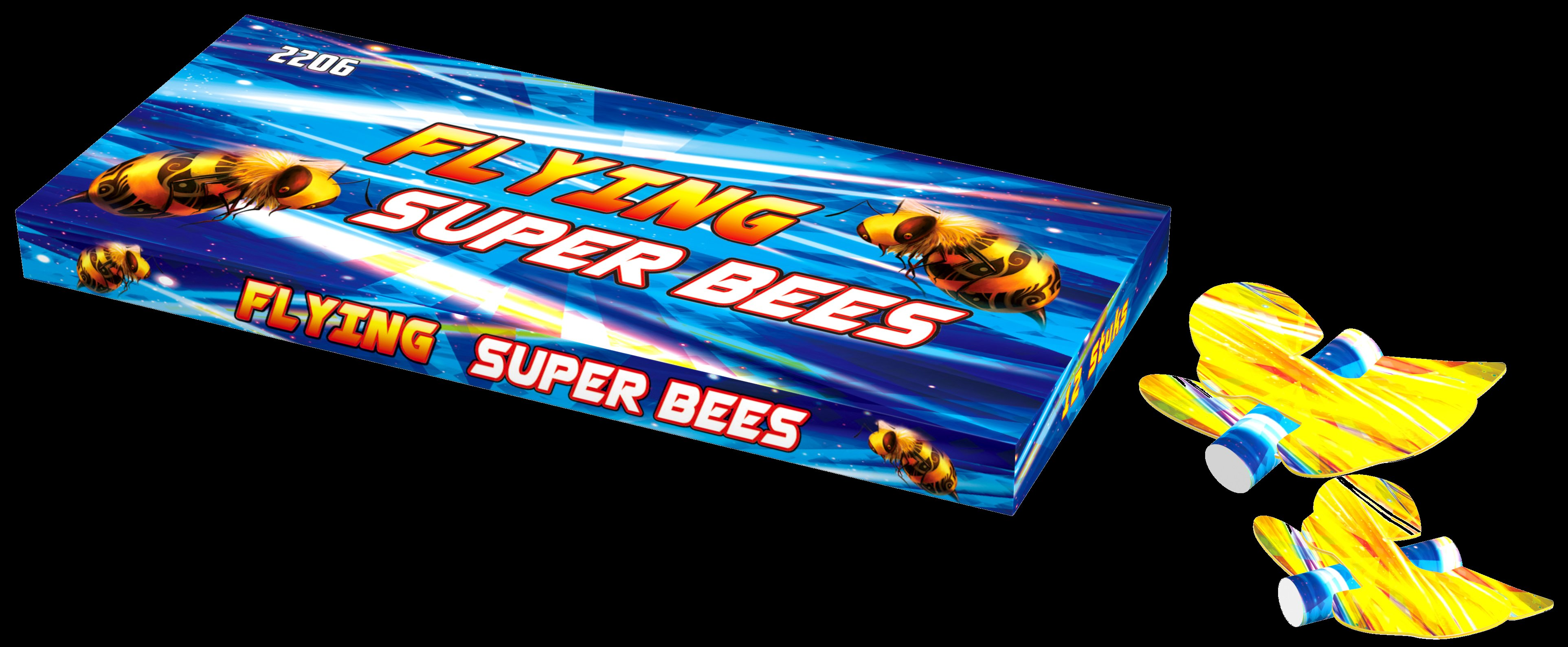 Flying super bees