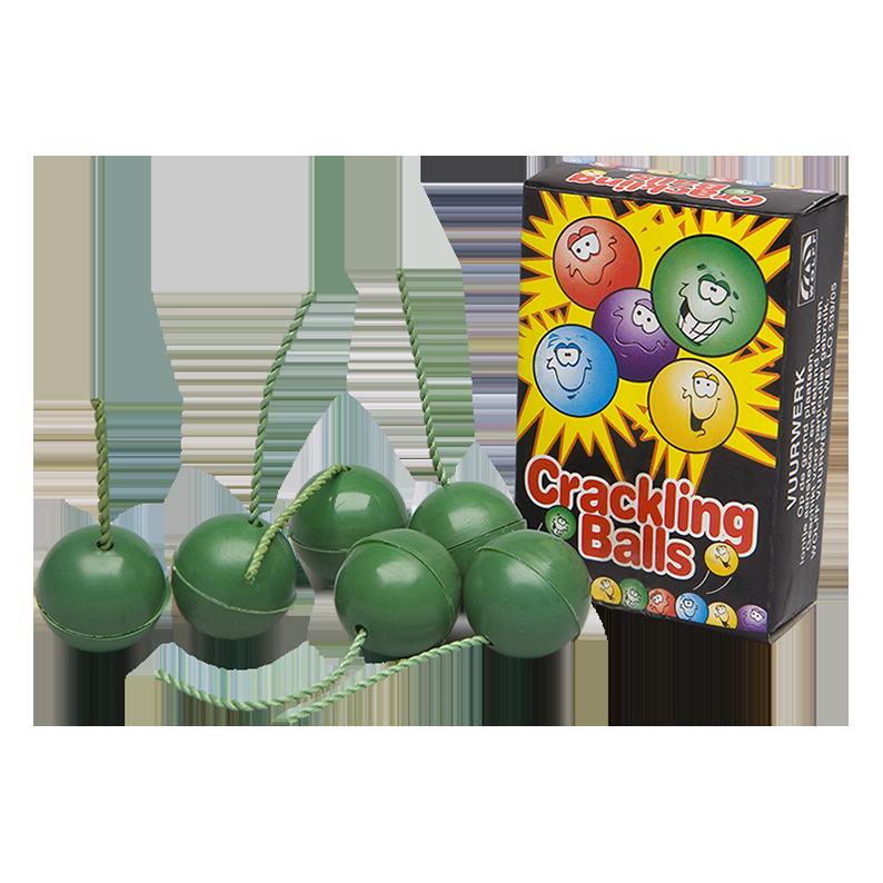 Crackling Balls 6 stuks