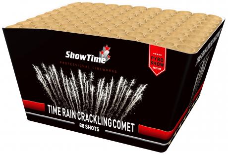 Time rain crackling comet
