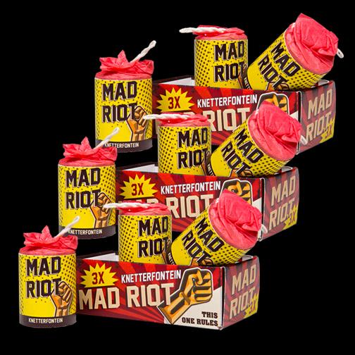Mad Riot 3 halen = 1 betalen