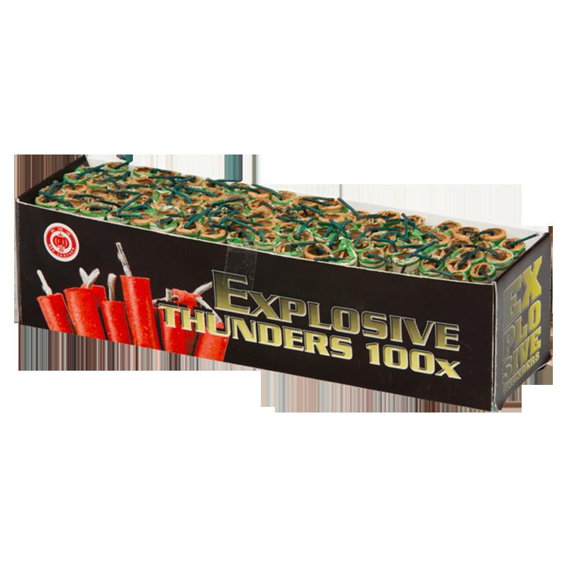 Explosive thunders