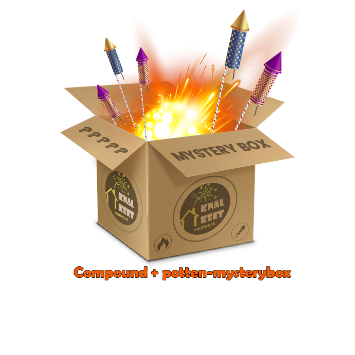 Mysterybox Compounds en cakeboxen €250,-