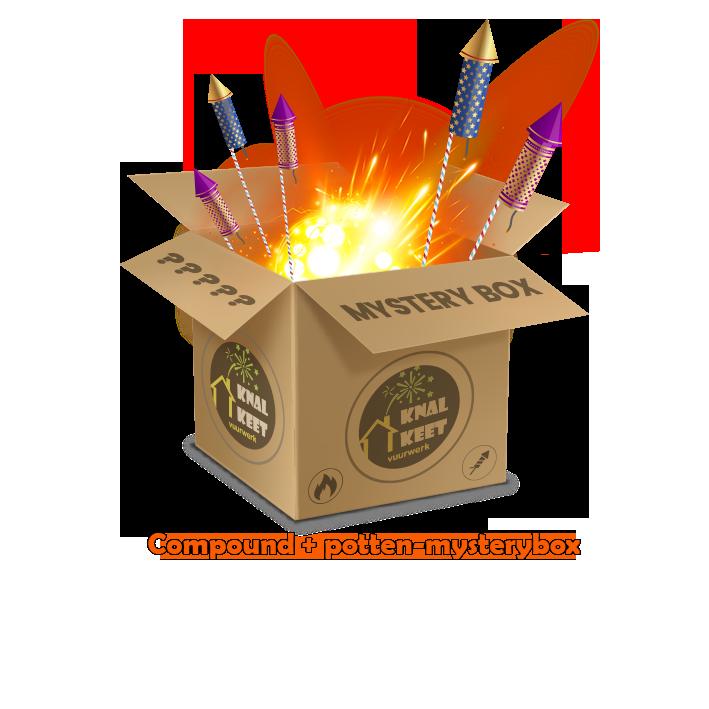 Mysterybox Compounds en cakeboxen €1000,-